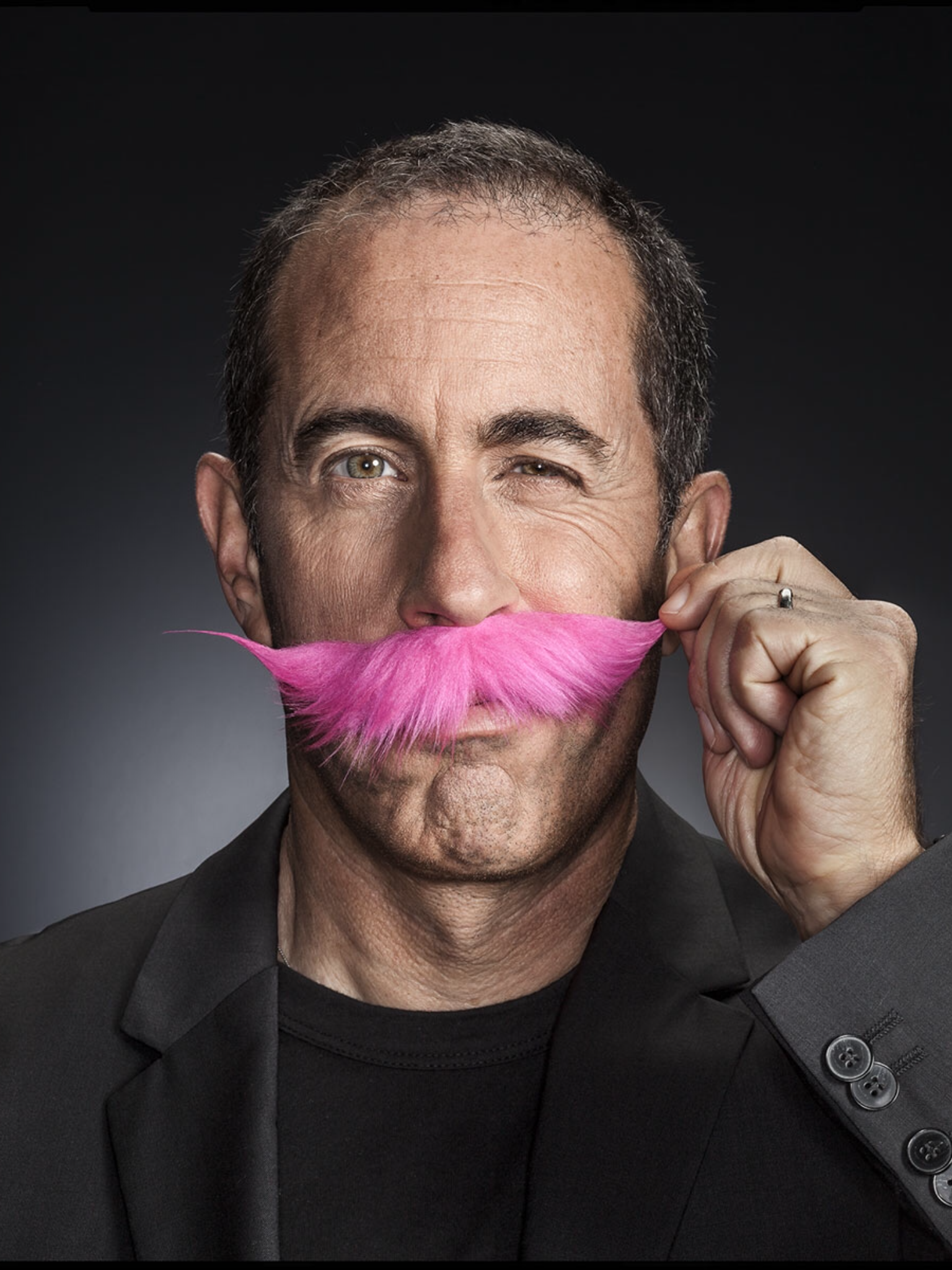Cover Wired Magazine with Jerry Seinfeld